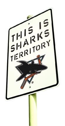 Sharksteritorysign